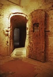 open prison door